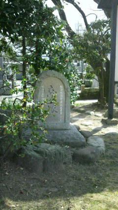 恋塚と慈母観音